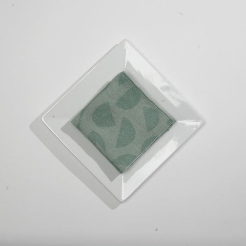 Seaglass Mini Decon Floral Cocktail Napkins