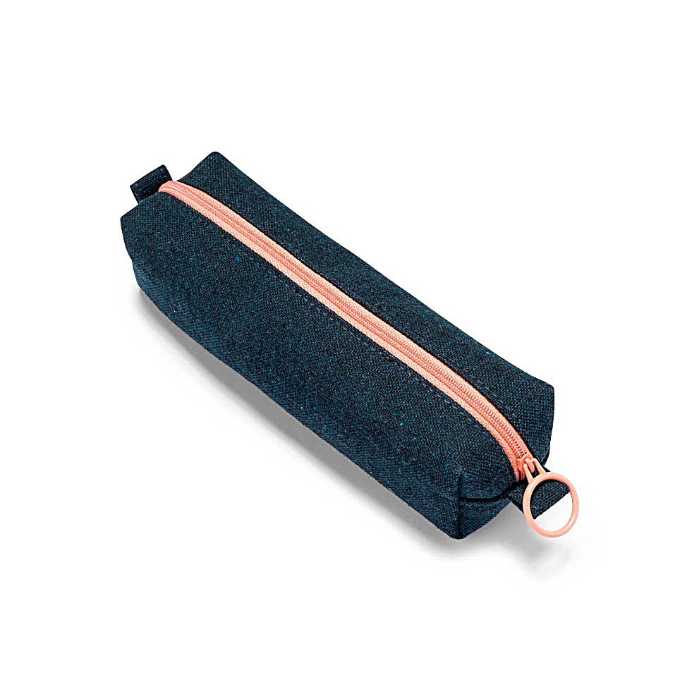 Dark Green Canvas Pencil Case - Juniper & Scout