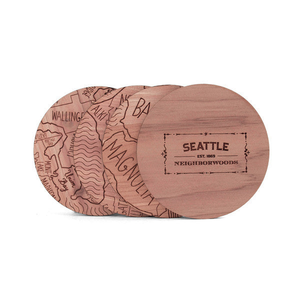 Seattle Coasters - Juniper & Scout