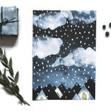 Winter Night Mini Print - Juniper & Scout