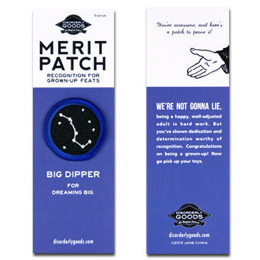 Big Dipper Merit Patch - Juniper & Scout