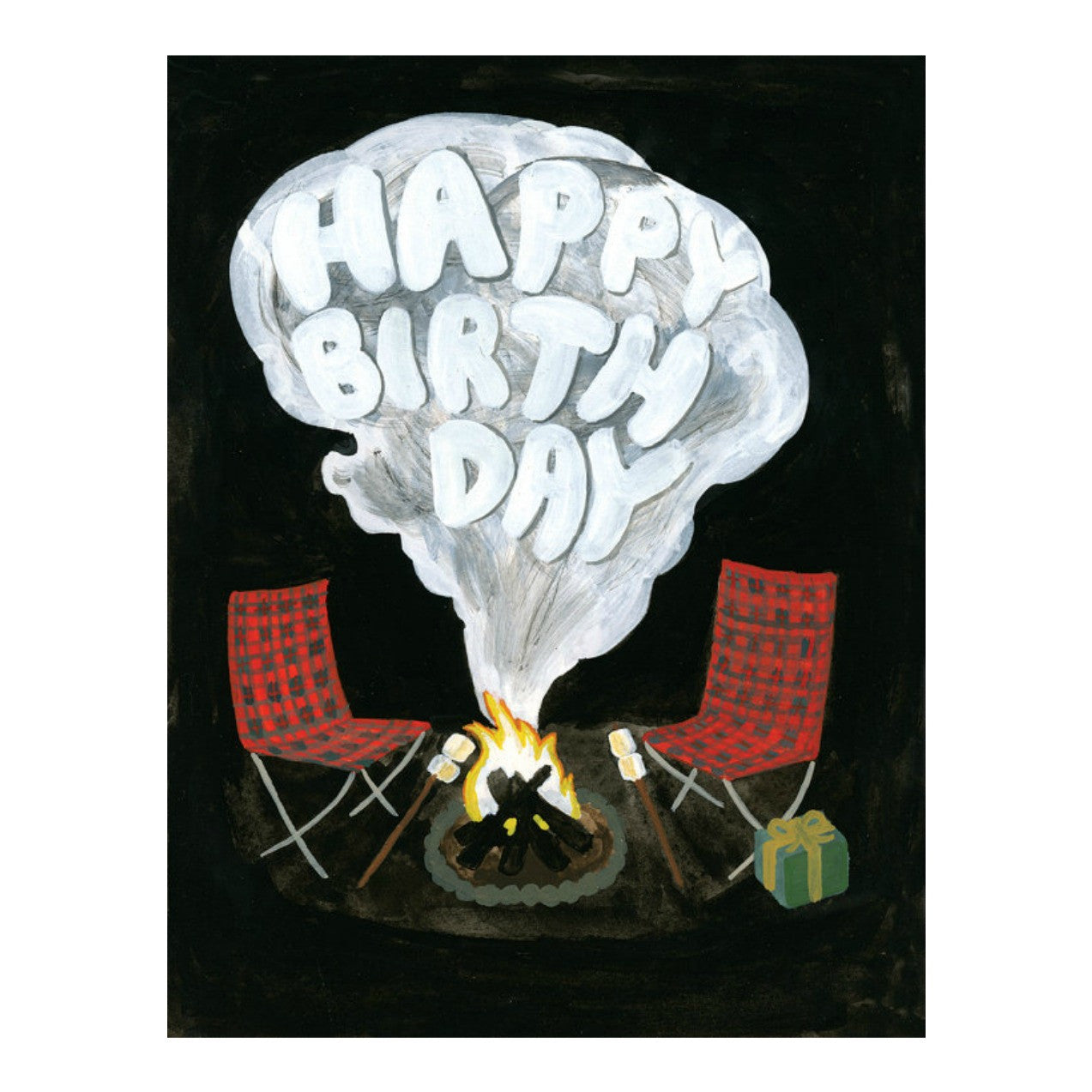 Campfire Birthday Card - Juniper & Scout