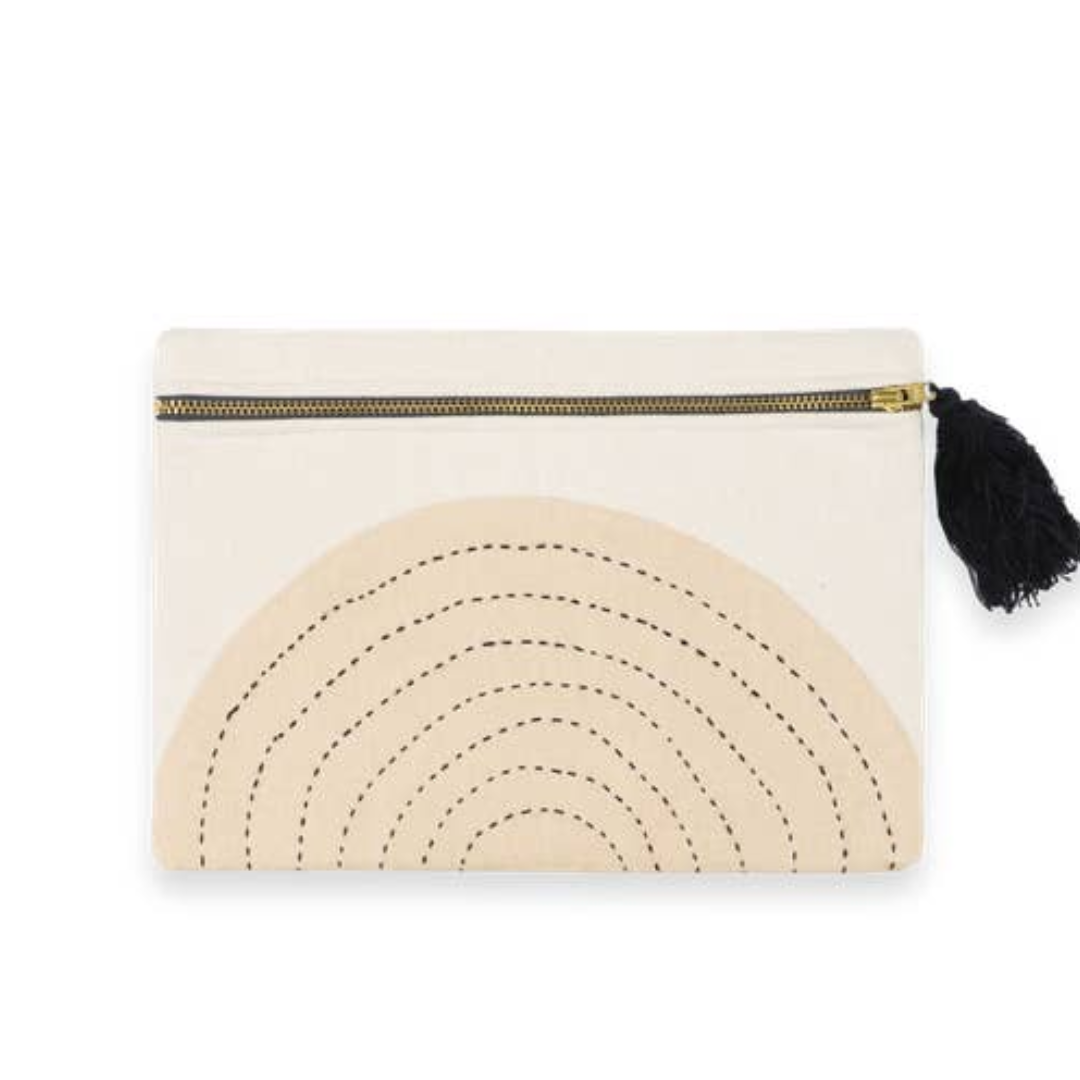 Ivory Eclipse Pouch - Juniper & Scout