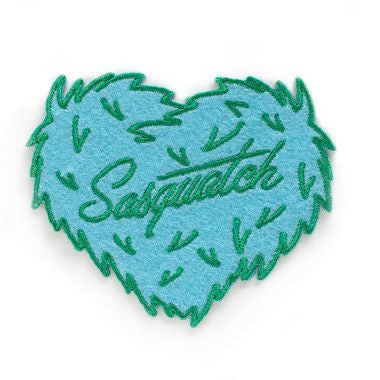 Sasquatch Love Patch