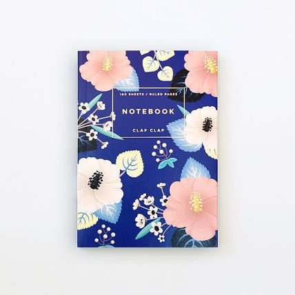Hibiscus Notebook - Juniper & Scout