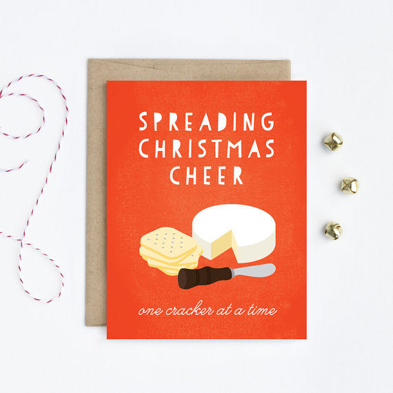Spreading Christmas Cheer Card - Juniper & Scout