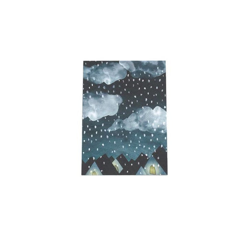 Winter Night Mini Print