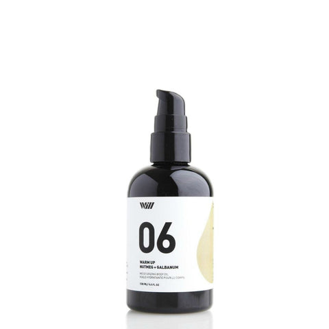Warm Up Body Oil