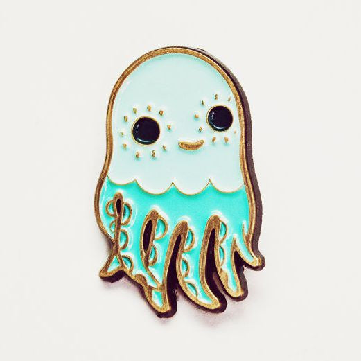Octopus Enamel Pin