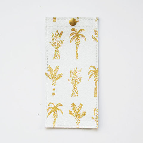 Palm Tree Eyeglass Case