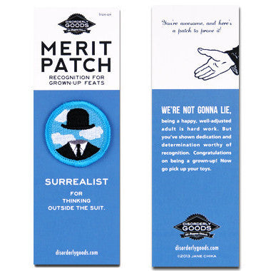 Surrealist Merit Patch