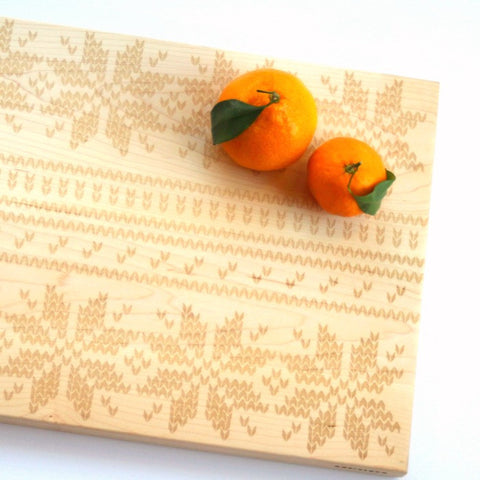 Holiday Sweater Cutting Board