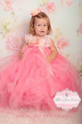 Tutu Dress paris pink toddlers