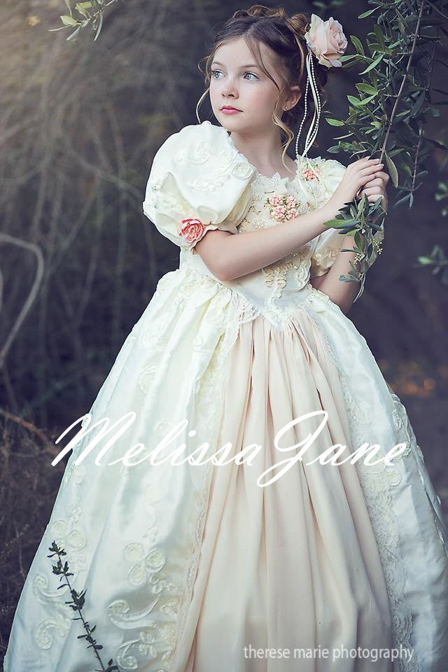 Floating on a Cloud - Princess Gown Girls Dress | MelissaJaneDesigns ...
