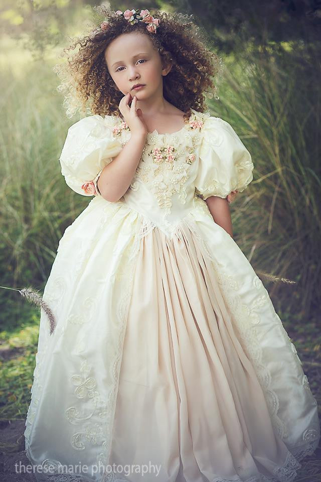Floating On A Cloud Princess Gown Girls Dress