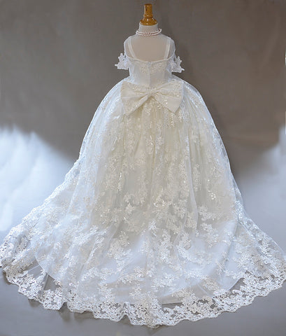 Mini Bridal Dress Ivory