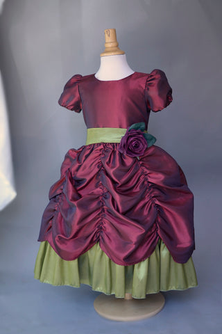 girls taffeta dress