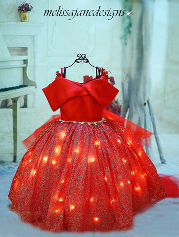 Girls Lighted Dress