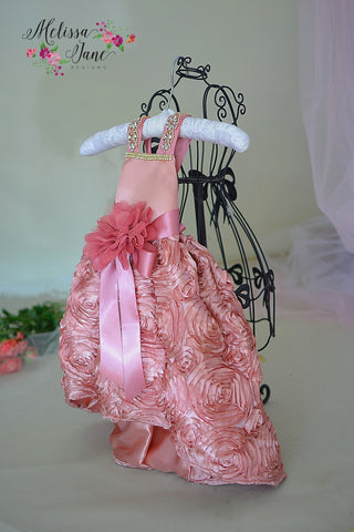 Baby Girls Dusty Rose Dress
