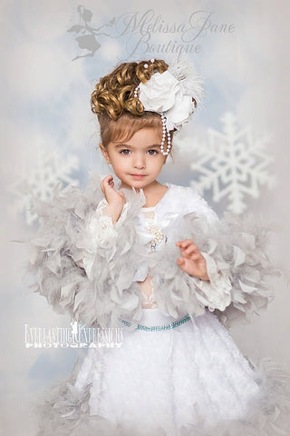 Angel Winter Wonderland Whimiscal Cape & Skirt - MelissaJane Designs
