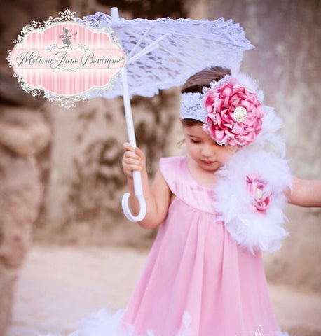 Be My Rose Flower Girl Dress - MelissaJane Designs