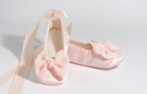 6d9ffcbc3 Blush Pink Couture Ballet Shoes