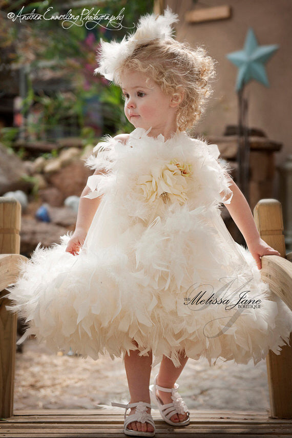 d02a2c5d52d Little Miss Princess Flower Girl Dress