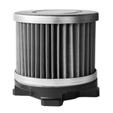 The Jagg HyperFlow Oil Filter utilizes a 30 micron stainless-steel weaved filter element for absolute filtration and superior flow characteristics