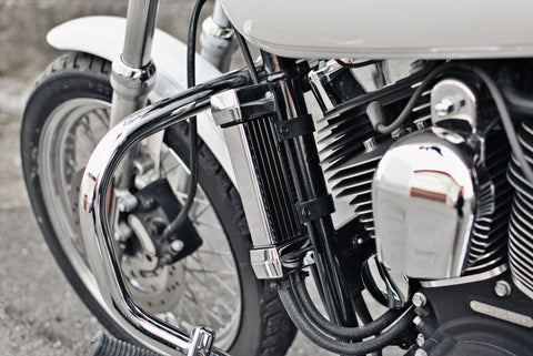 Chrome Oil Cooler System for H-D