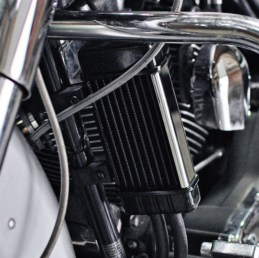 WideLine Chrome Oil Cooler System