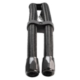 Hose Upgrade Kit 3ft - Black Lightweight-fiber braided