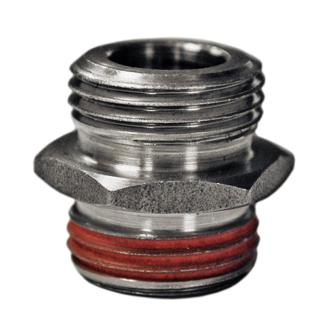Stock-to-Jagg Oil Filter Adapter Nipple for H-D
