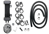 Deluxe DiamondCut Oil Cooler System for H-D