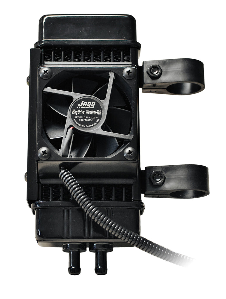 Jagg Fan Assisted Vertical 10 Row Oil Cooler System For