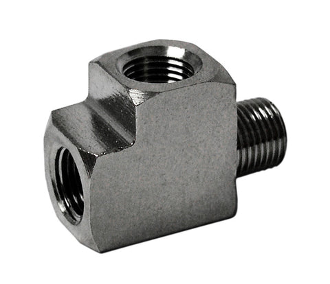 Adapter Fitting Street-Tee - NPT1/8in male to 2x female