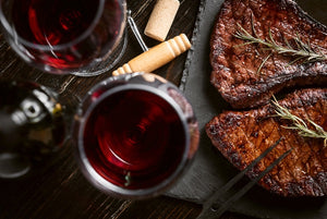What type of wine pairs well with red meat?