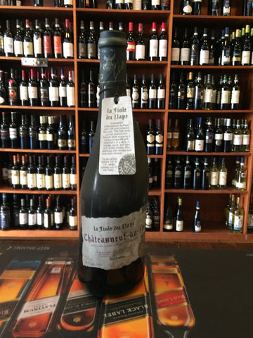 Chateauneuf du Pape Dirty bottle