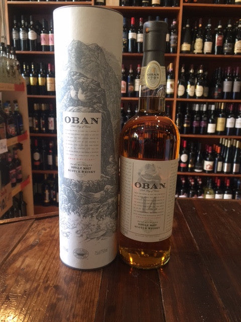 Oban 14 yr old 750ml Single Malt