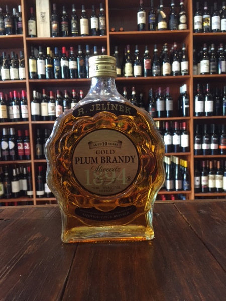 R. Jelinek 10yr Plum Brandy 750ml Slivovitz Gold
