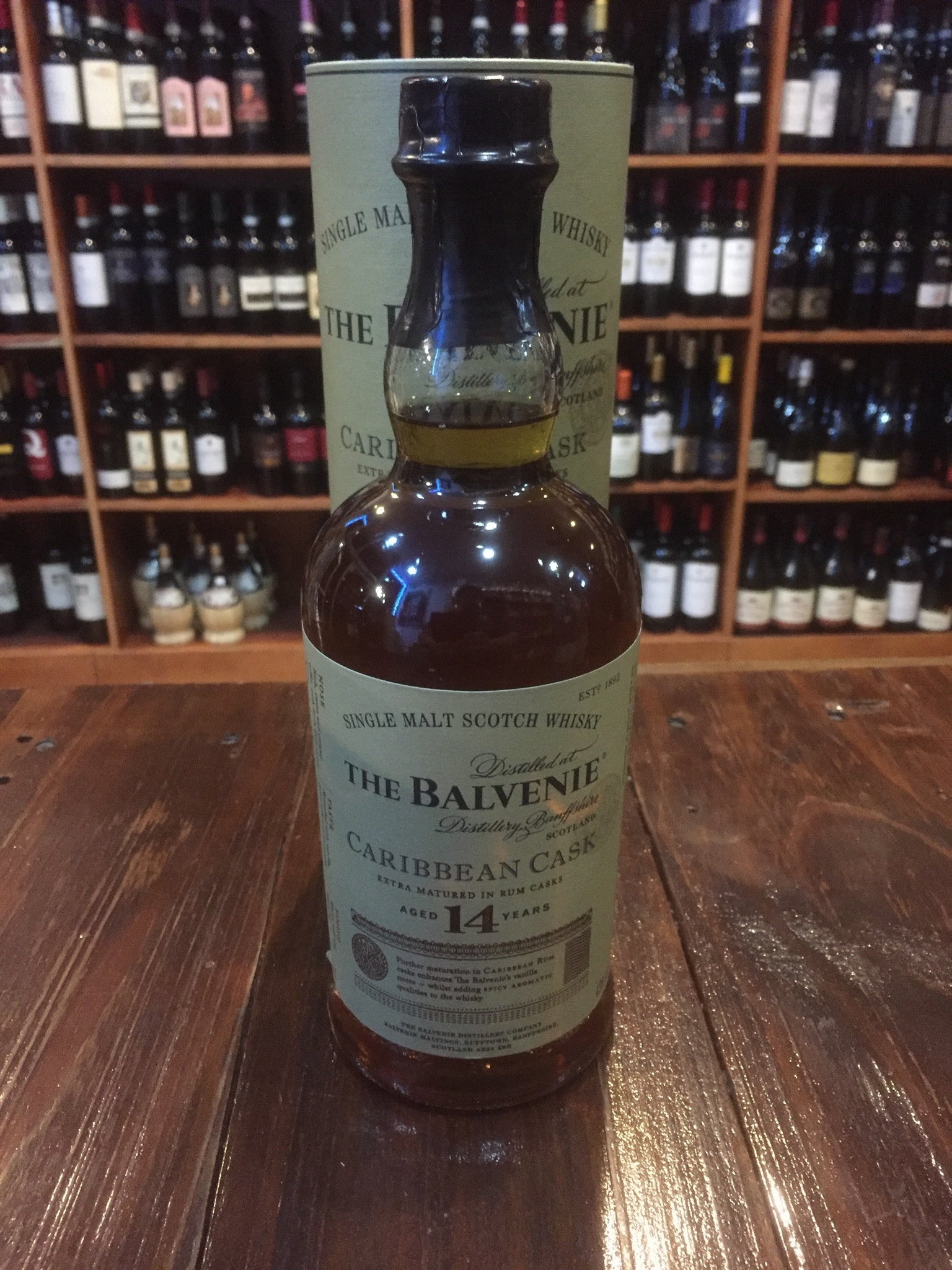 The Balvenie 14yr  Carribean Cask 750ml
