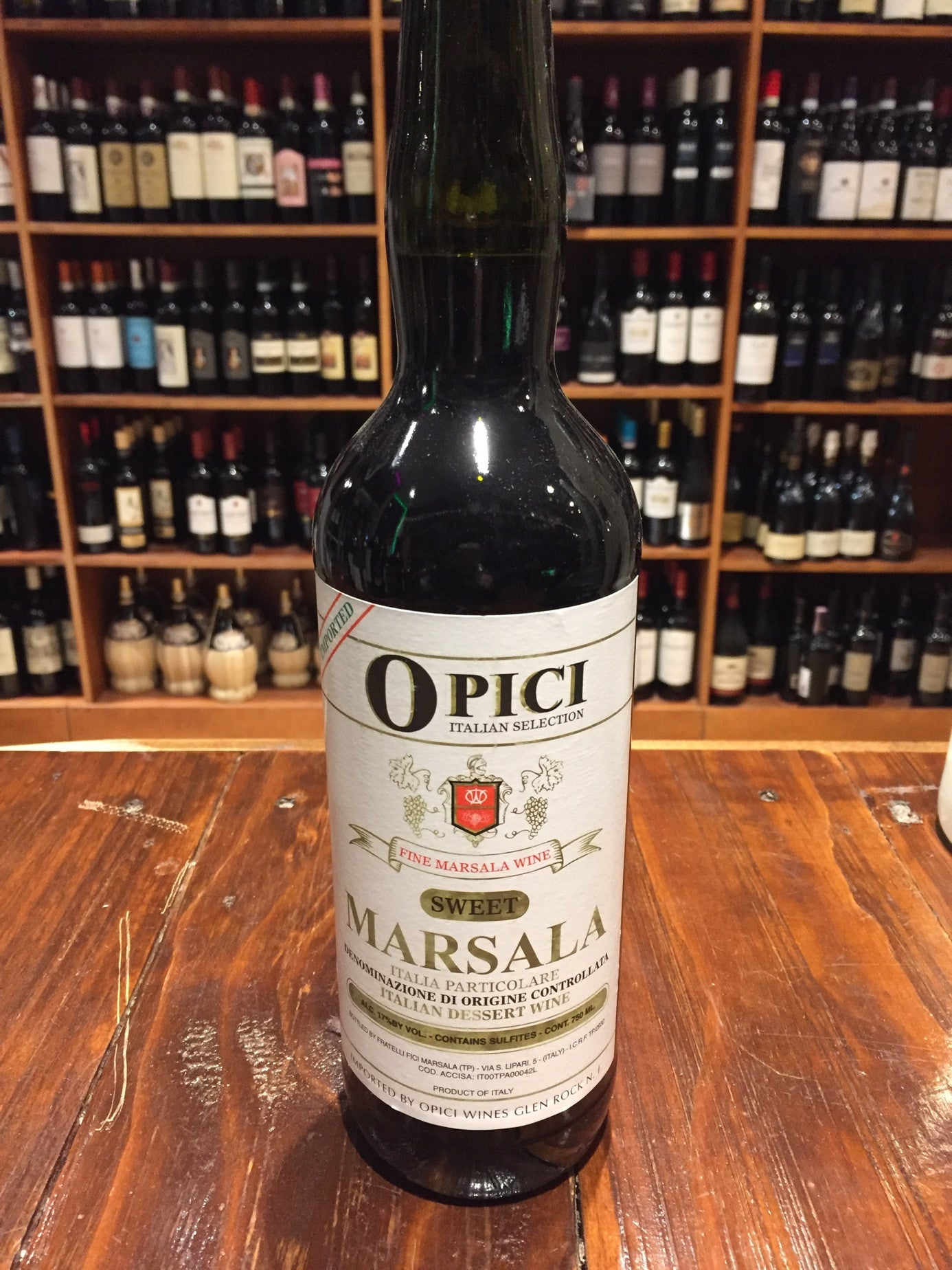 Opici Marsala Imp Sweet 750ml