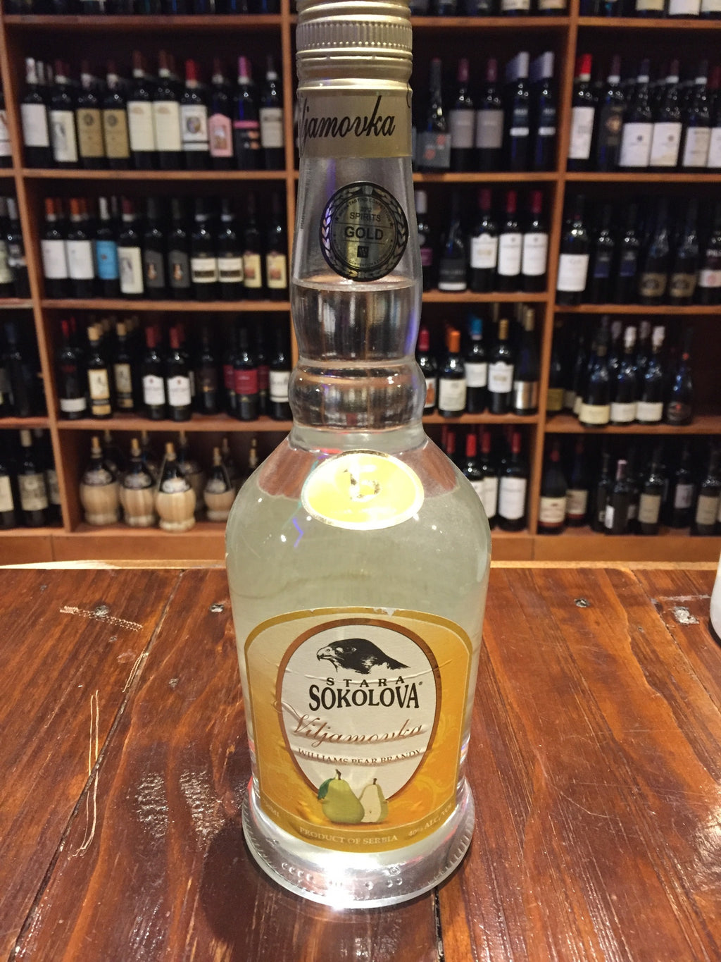 Viljamovka Williams Pear Brandy 750ml Sokolova