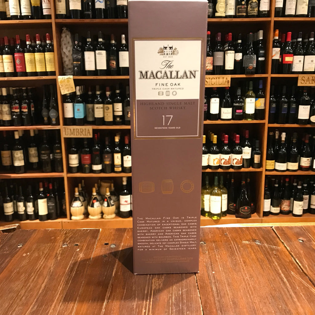 Macallan 17yr Fine Oak 750ml