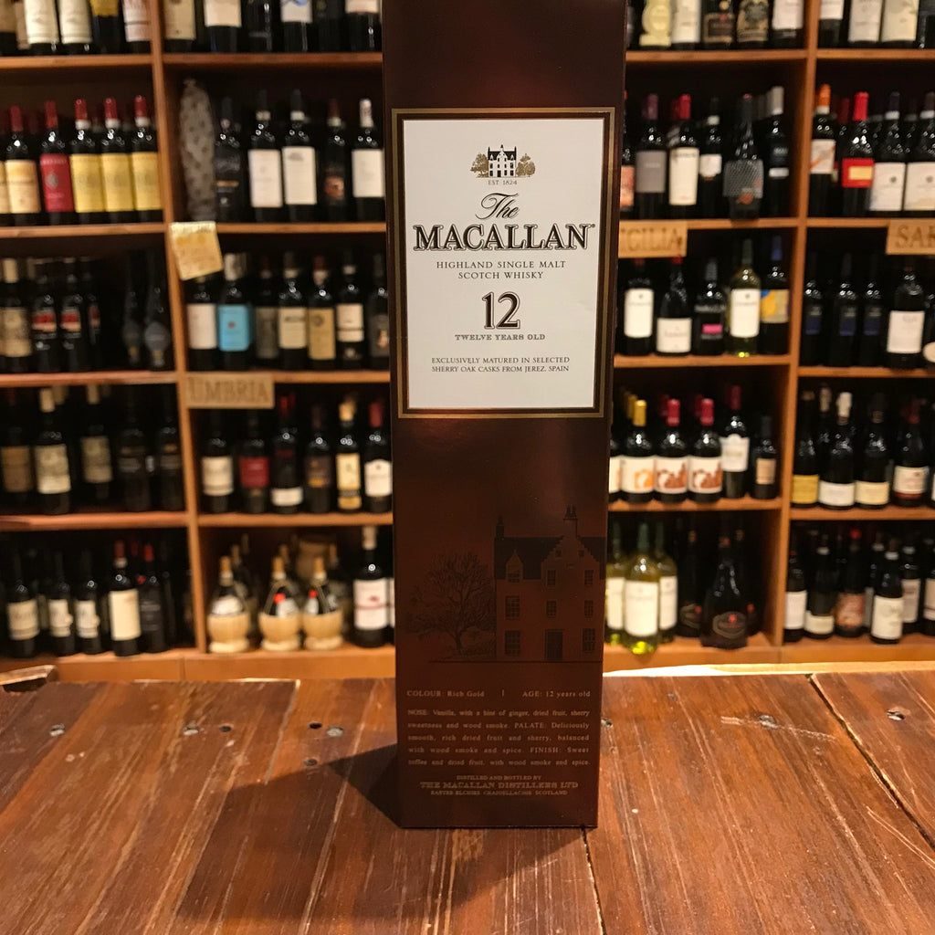 Macallan 12yr 750ml