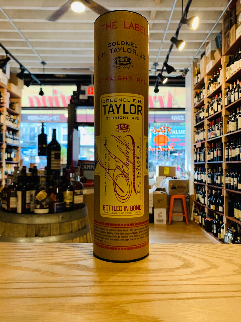 E.H. Taylor Straight Rye 750mL