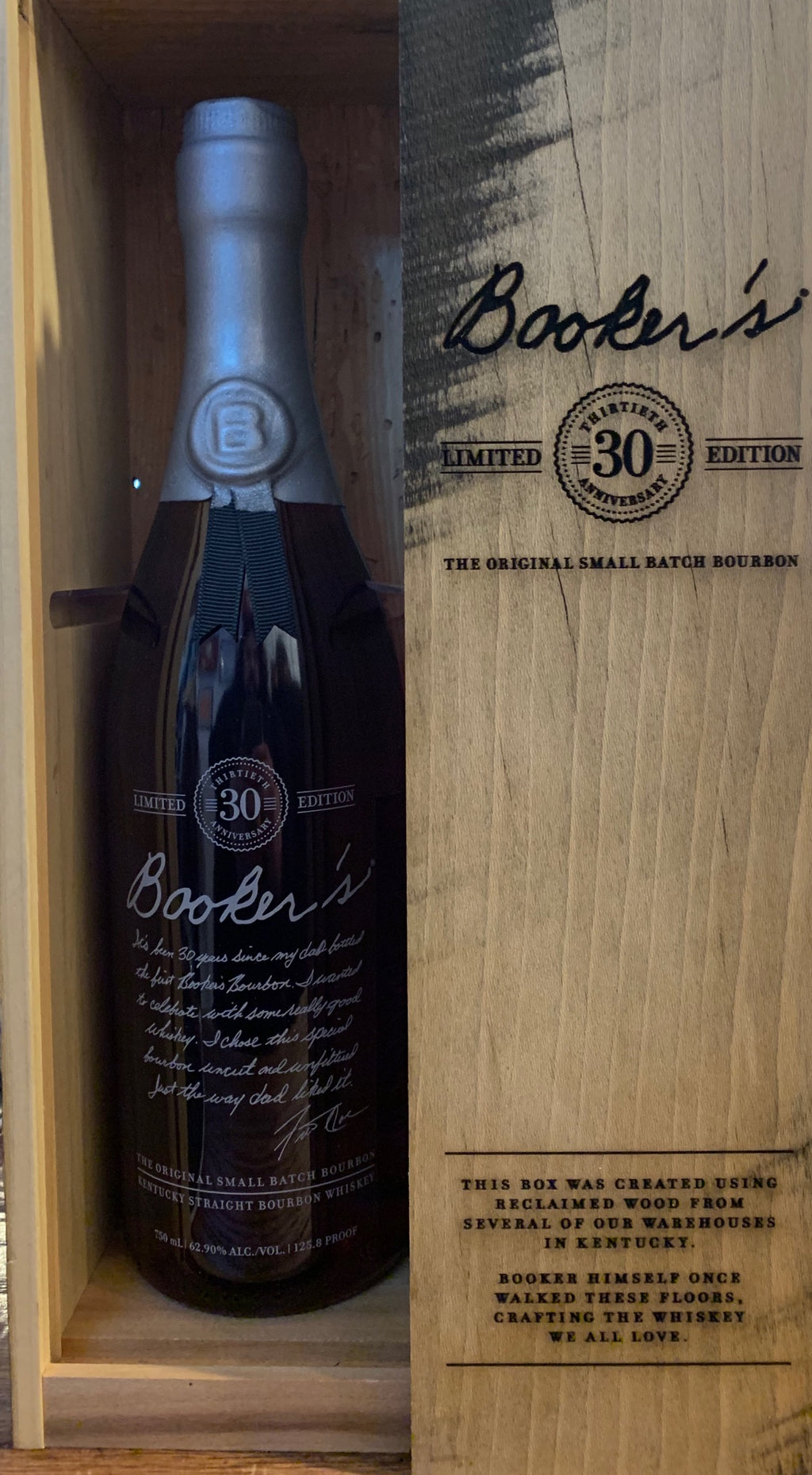 Bookers 30th Anniversary 750mL 125.8º