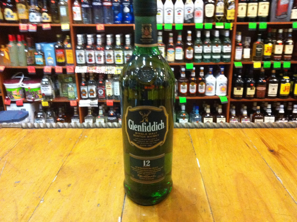 Glenfiddich 12 yr old Single Malt 750mL