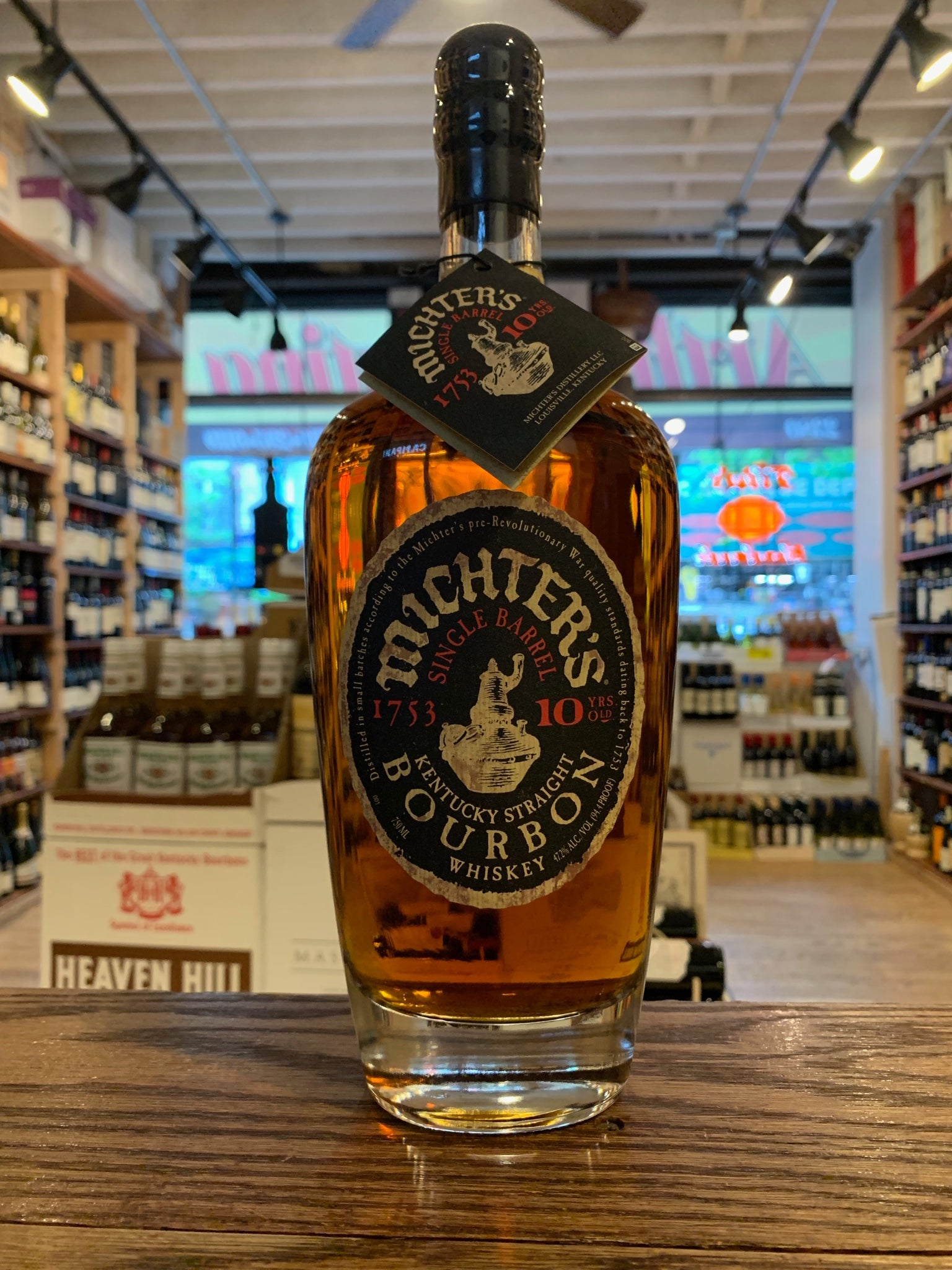 Michters 10yr Bourbon 750mL