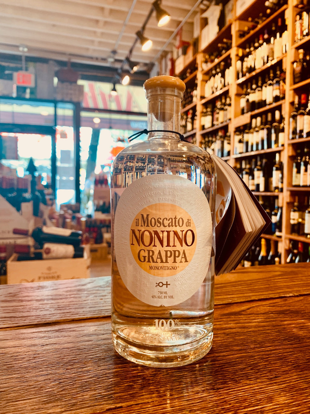 Grappa Nonino Moscato 750mL