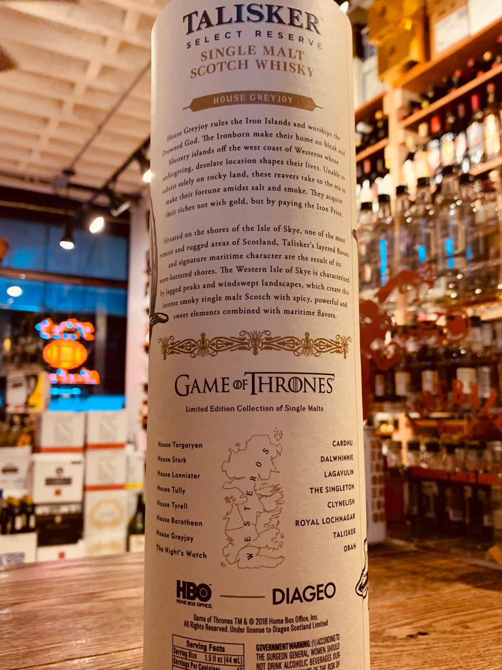 House Greyjoy Talisker Select Reserve 750mL